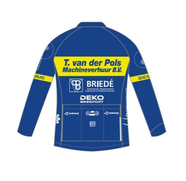 Race jersey long sleeves Kids PRC Delta achterkant